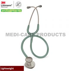 3M Littmann Lightweight II S.E. Stethoscope, Seafoam Green Tube 2455