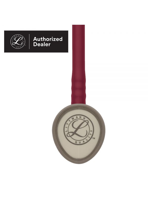 3M Littmann Lightweight II S.E. Stethoscope, Burgundy Tube 2451