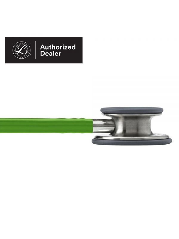 3M Littmann Classic III Stethoscope, Lime Green Tube, 5829