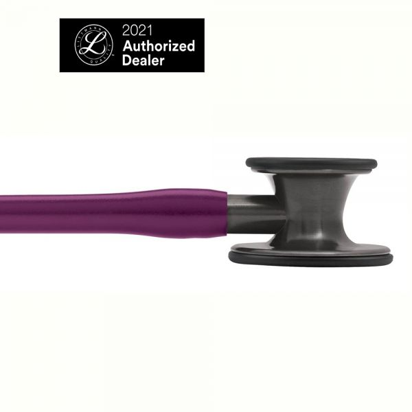 3M™ Littmann® Cardiology IV Stethoscope, Plum Tube, Smoke-Finish Chestpiece, Stem and Headset, Special Edition, 27 Inch, 6166