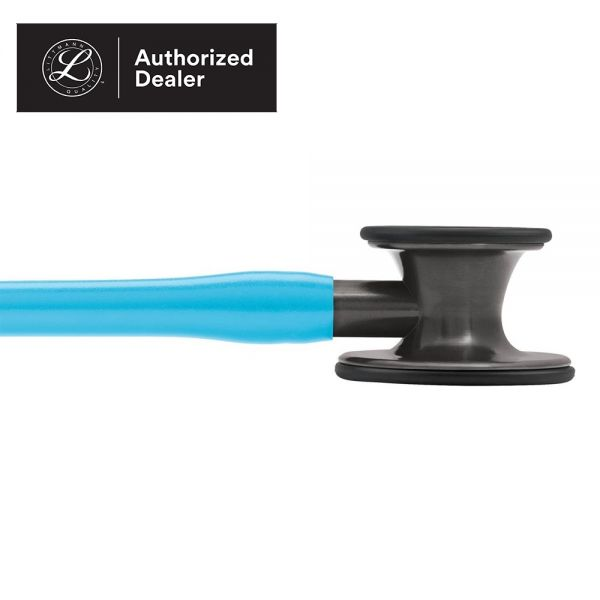 3M Littmann Cardiology IV Stethoscope, Turquoise Tube, Smoke-Finish Chestpiece, Stem and Headset, Special Edition, 27 Inch, 6171