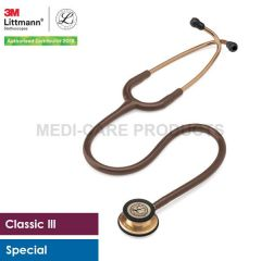 3M™ Littmann® Classic III Stethoscope, Copper-Finish Chocolate Tube, 5809