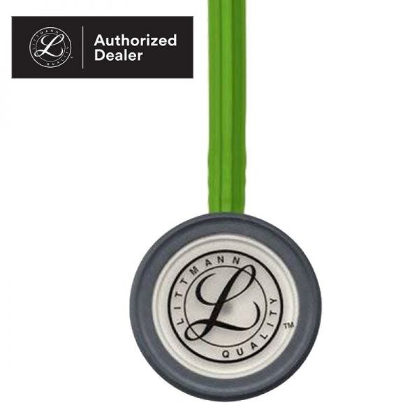 3M Littmann Classic III Stethoscope, Lime Green Tube, 27 inch, 5829