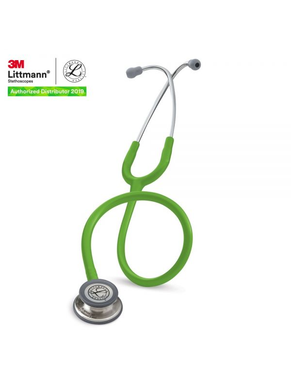 3M™ Littmann® Classic III Stethoscope, Lime Green Tube, 27 inch, 5829